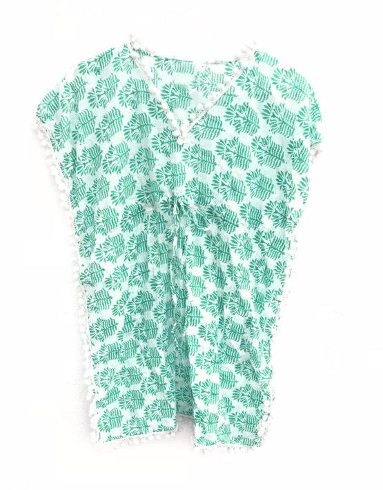 Girl's Green Pineapples